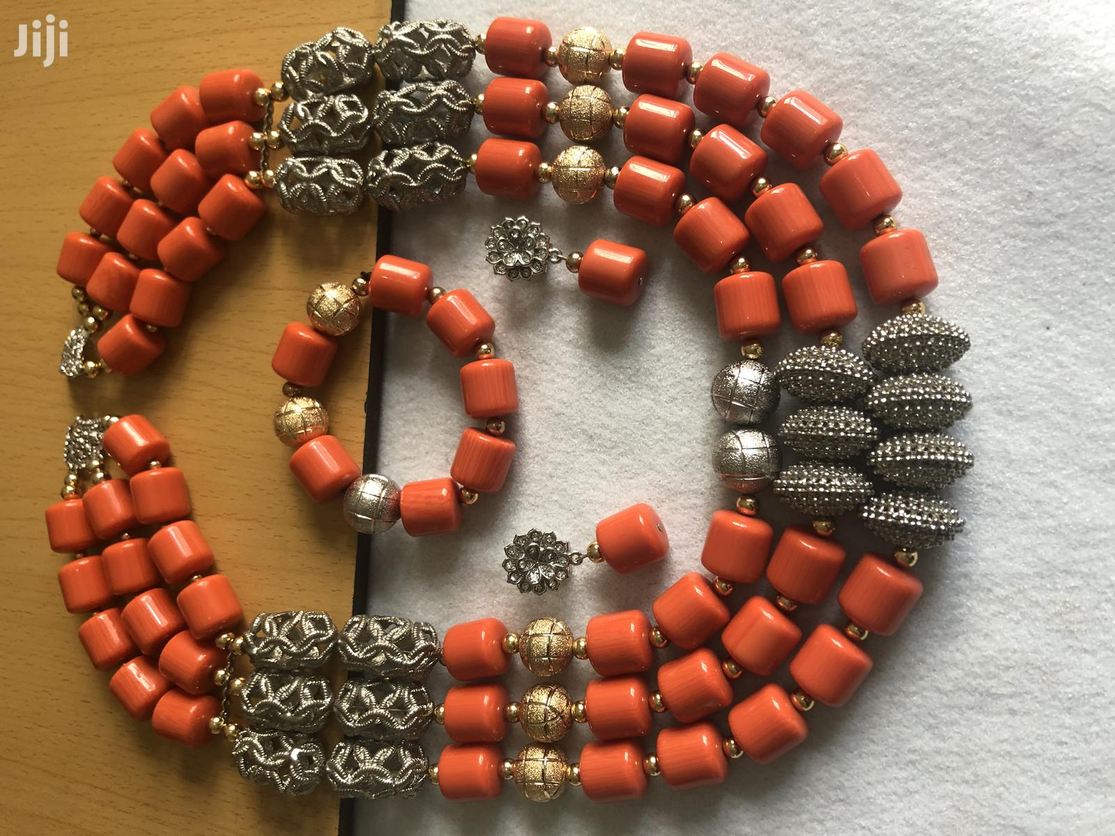 Archive: Beaded Coral Necklace (Set)