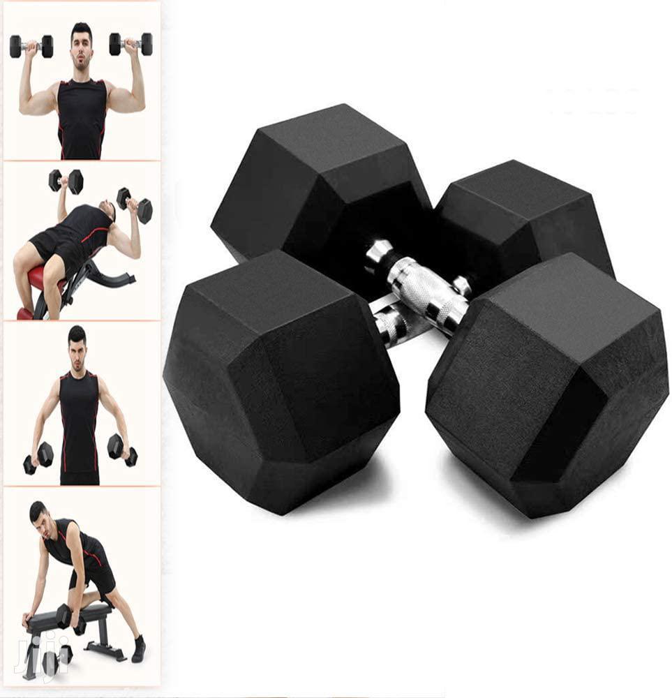 DUMBELLS 35kg. | Sports Equipment for sale in Accra Metropolitan, Greater Accra, Ghana