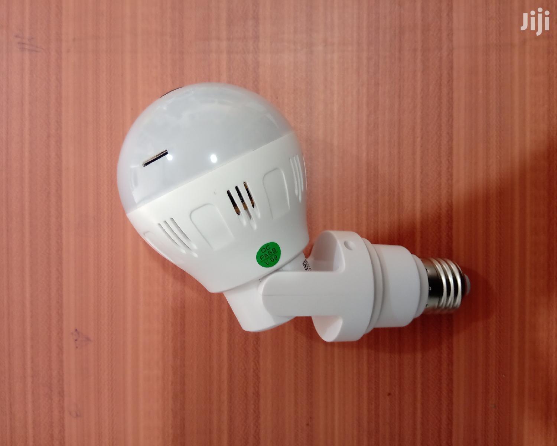 Smart Bulb Camera V380_adjustable