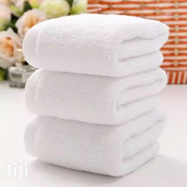 3-Piece Bath Towel – White