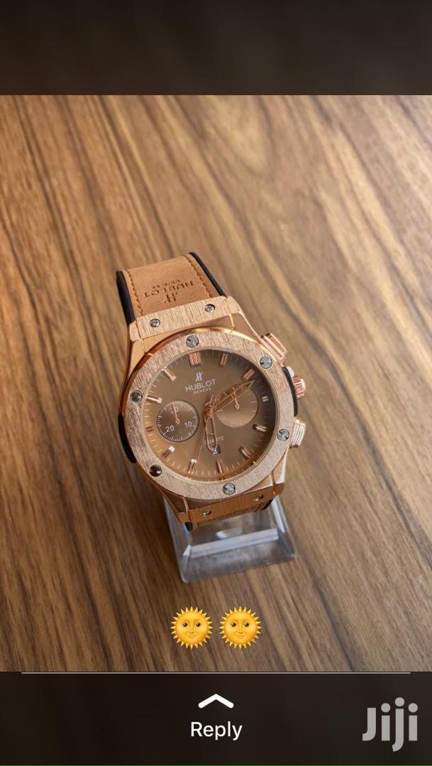 Archive: Hublot Leather Watch