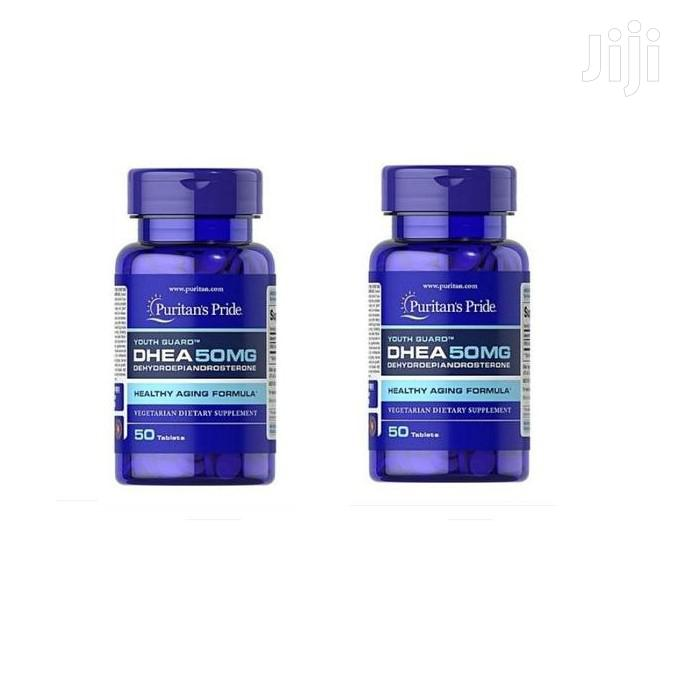 Archive: Pack of 2 Puritan's Pride PURITAN'S DHEA 50MG TABLETS