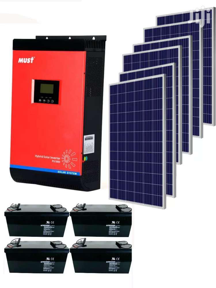 3 Kilowatts Solar