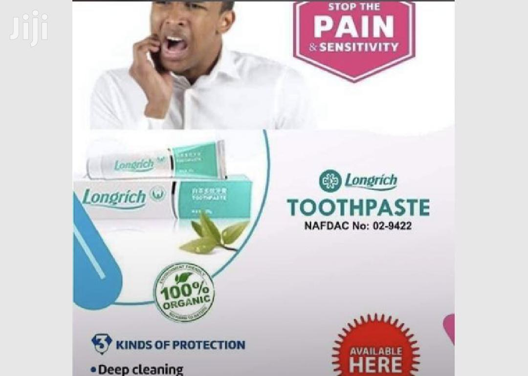 Longrich Toothpaste For Tooth Ache And Whitening | Bath & Body for sale in Accra Metropolitan, Greater Accra, Ghana