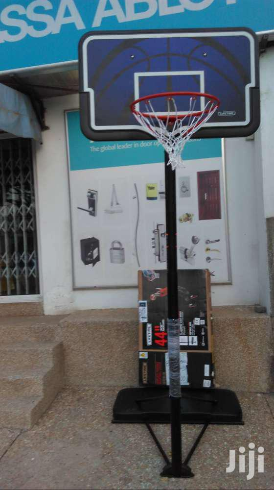 Adult Teen Basketball Stand New Hoop 10ft | Sports Equipment for sale in Achimota, Greater Accra, Ghana