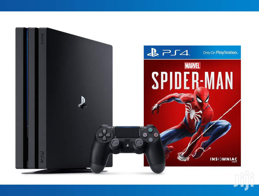 SONY Ps4 PRO Spiderman Bundle | Video Game Consoles for sale in Osu, Greater Accra, Ghana