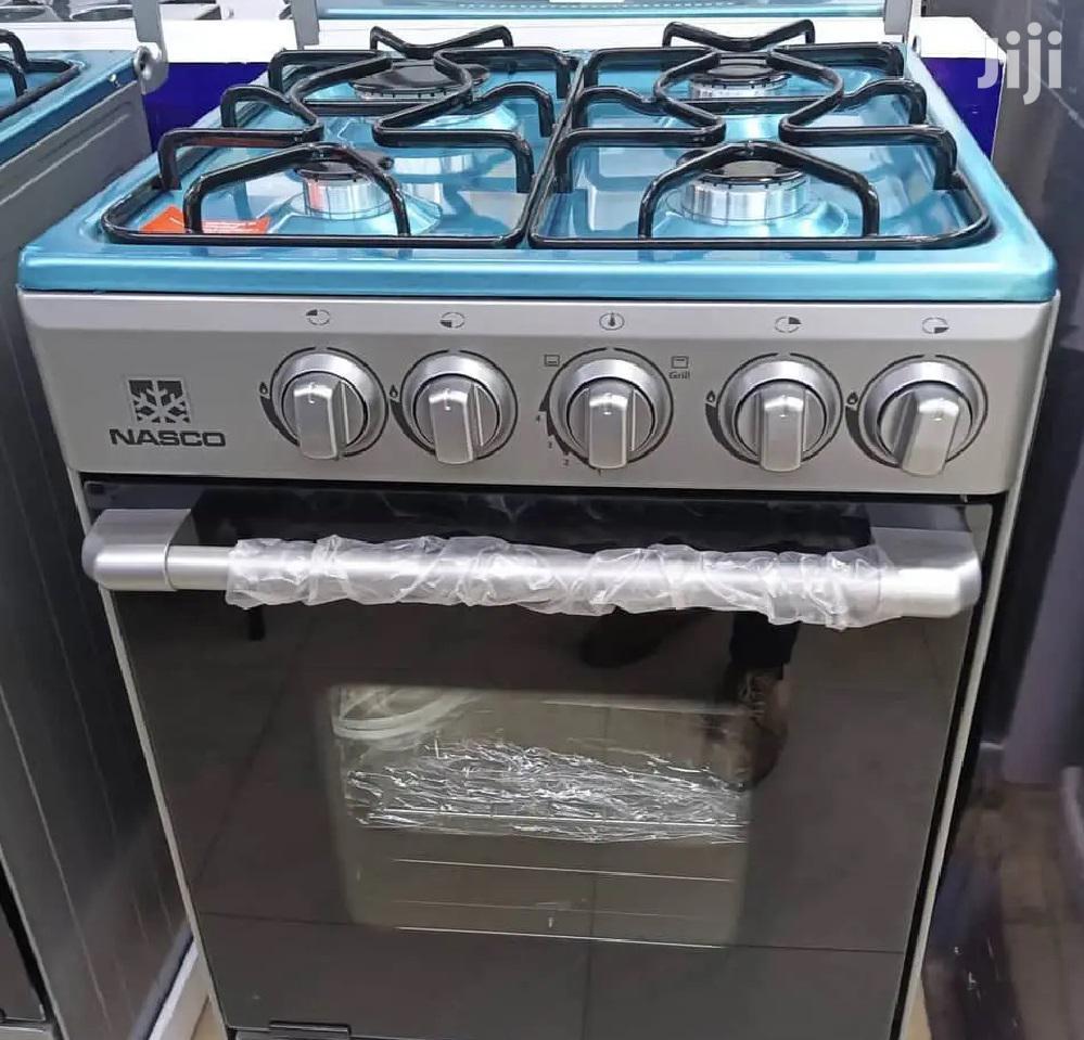 Nasco 4 Burner 50x50cm Gas Cooker OVEN GRILL