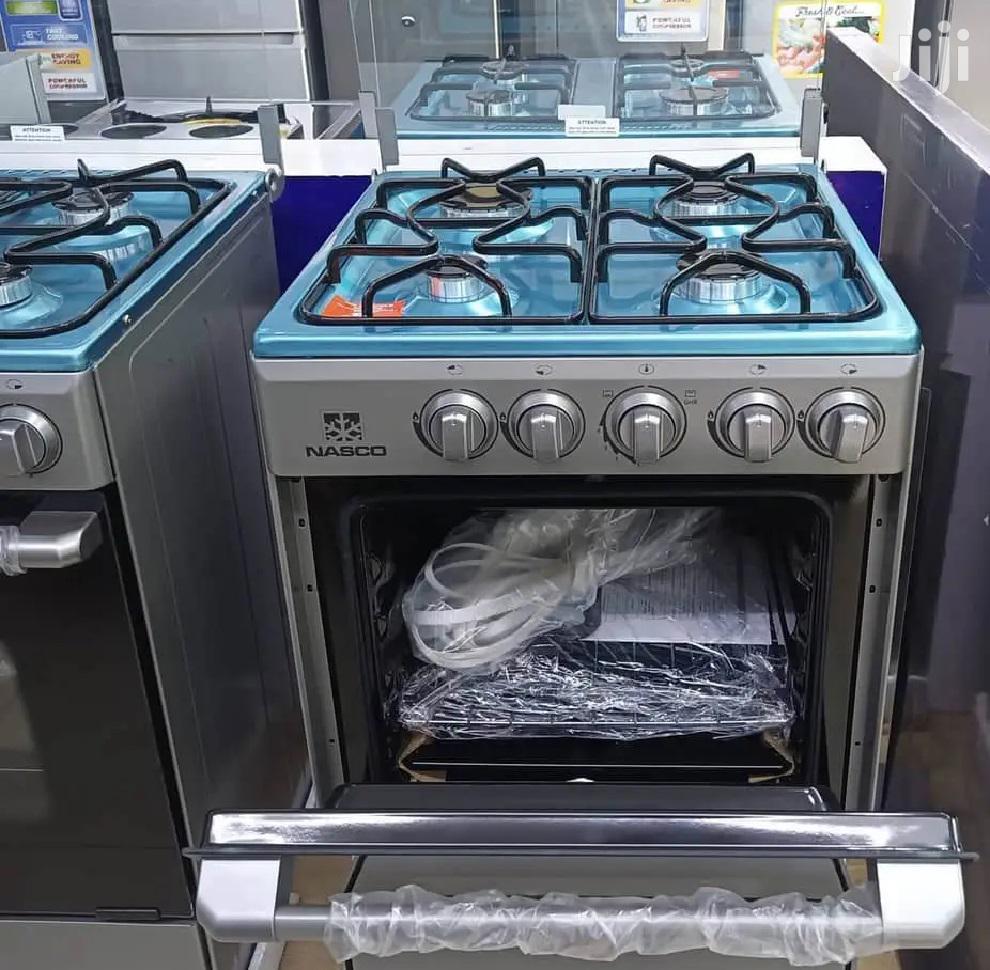 Nasco 4 Burner 50x50cm Gas Cooker GRILL