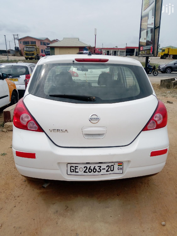 Nissan Versa 2010 1.6 White   Cars for sale in Awutu Senya East Municipal, Central Region, Ghana