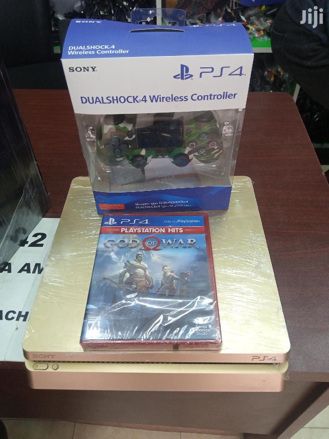 Playstation 4 Gold Loaded With Fifa 20 Offline,God of War Cd | Video Game Consoles for sale in Achimota, Greater Accra, Ghana