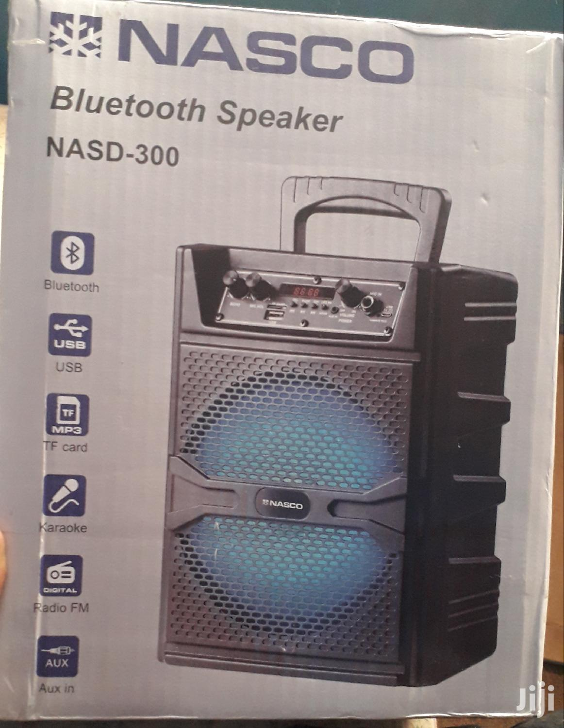 Nasco Sound System, USB, FM, Rechargeable