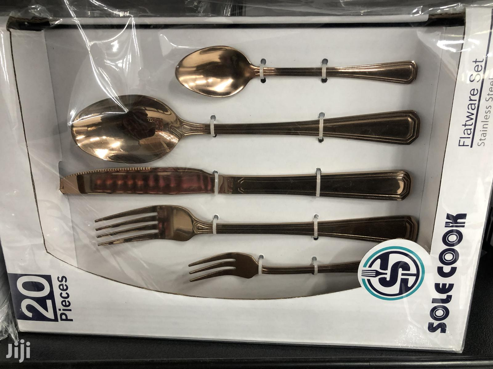 Cutlery Sets- Gold/Bronze Plated | Kitchen & Dining for sale in Accra Metropolitan, Greater Accra, Ghana