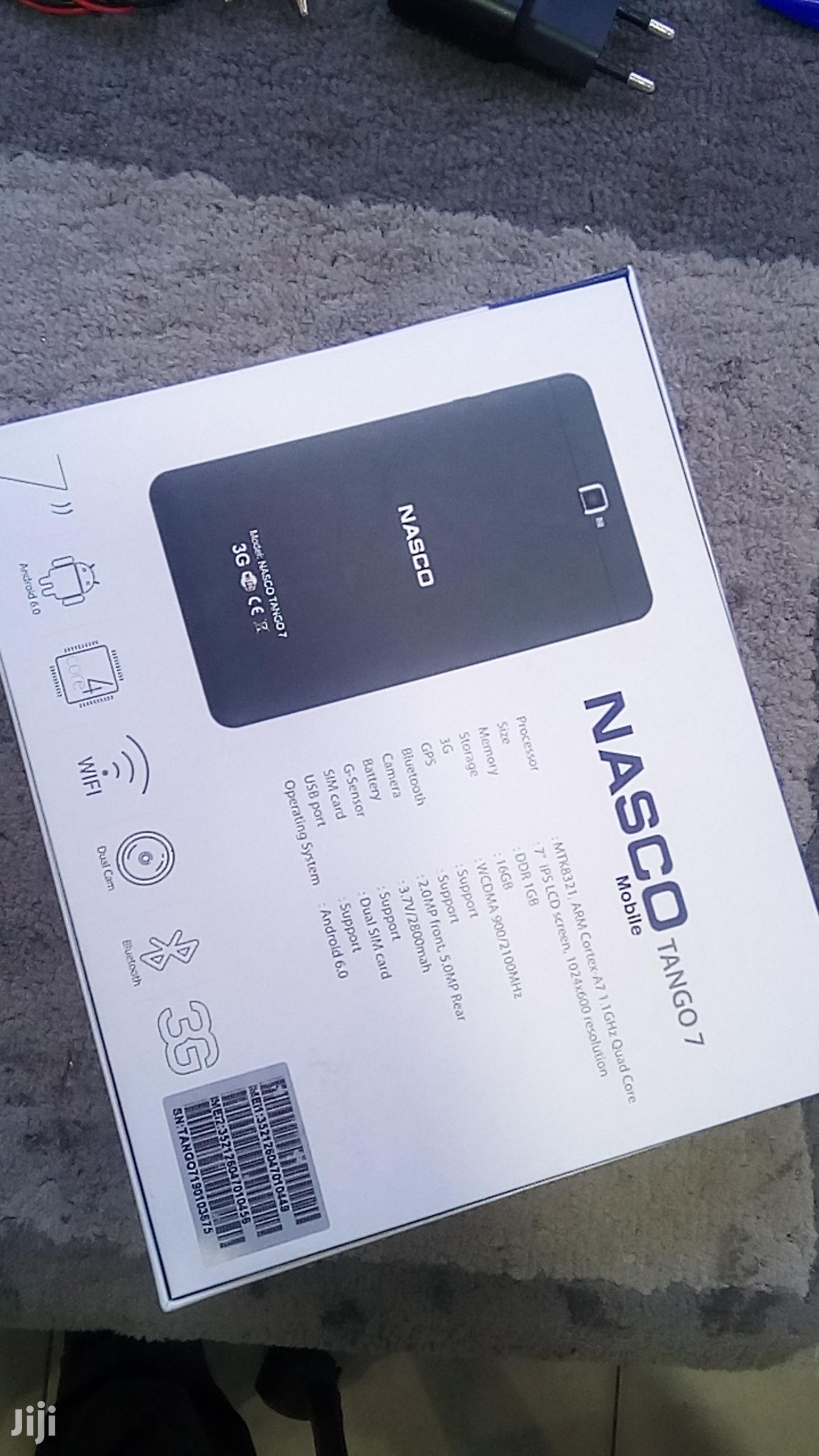 New Nasco Tango 7 16 GB Black | Tablets for sale in Kokomlemle, Greater Accra, Ghana