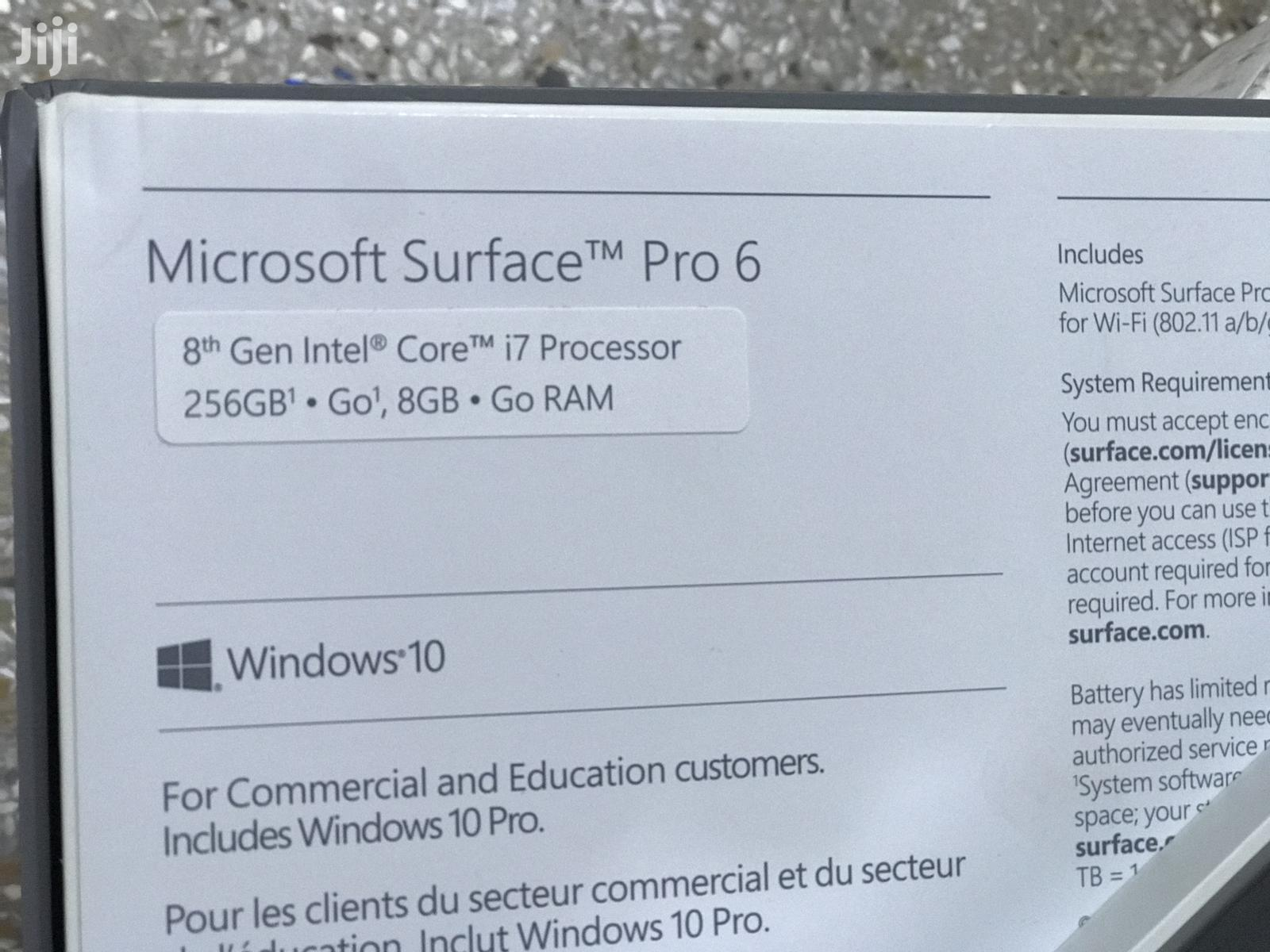 New Laptop Microsoft Surface Pro 8GB Intel Core I7 HDD 256GB | Laptops & Computers for sale in Tema Metropolitan, Greater Accra, Ghana