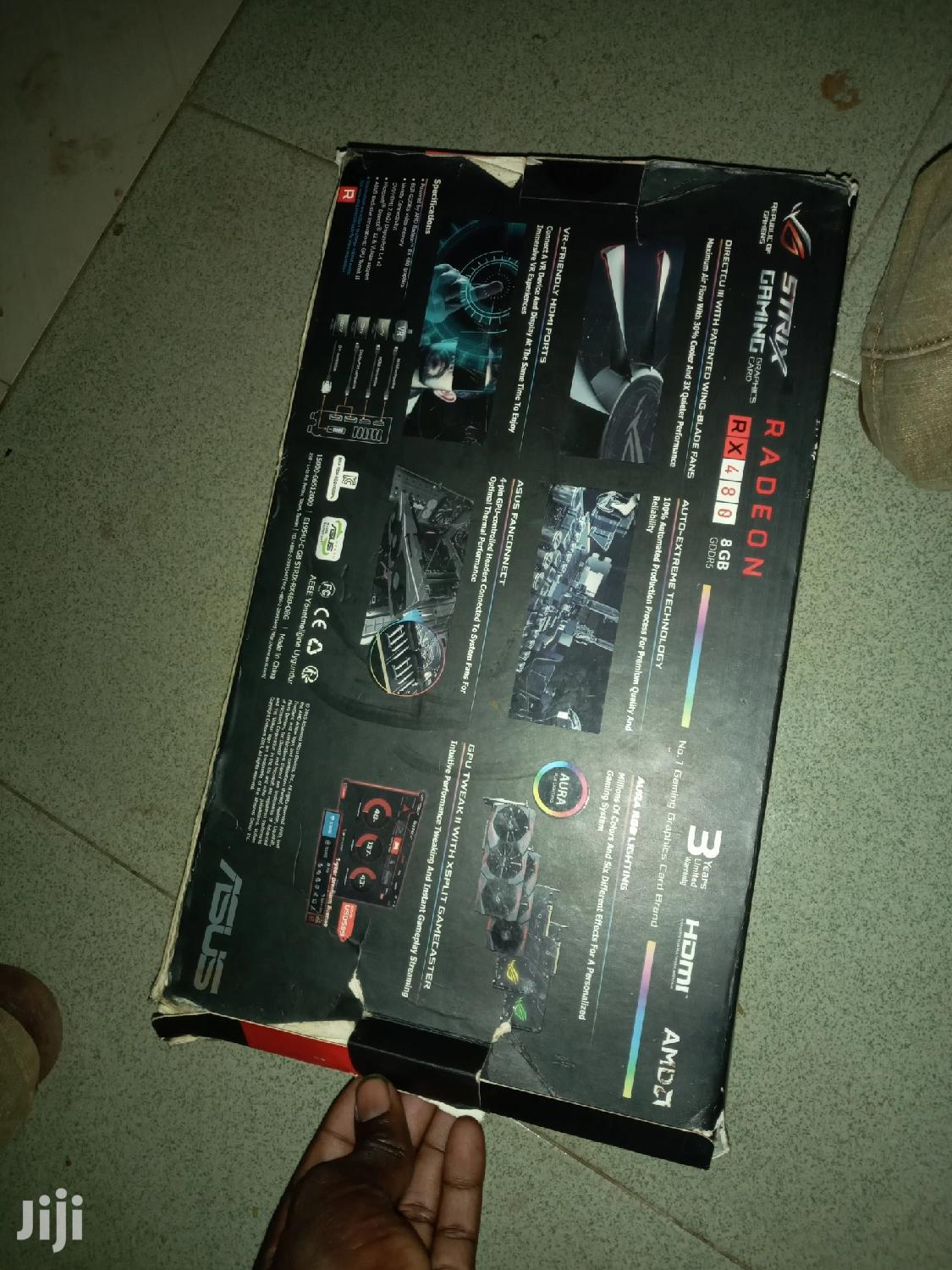 Gaming And Editing Graphics Card RX 480 8gb | Computer Hardware for sale in Bawku Municipal, Upper East Region, Ghana