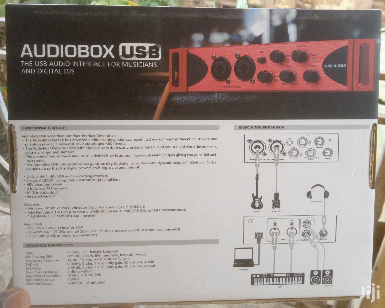 Archive: Audiobox USB