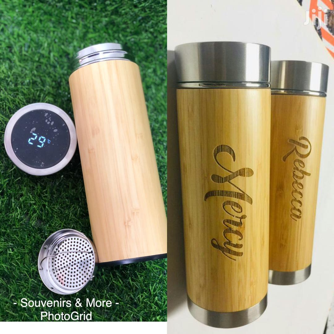 Bamboo Flask | Printing Services for sale in Accra new Town, Greater Accra, Ghana