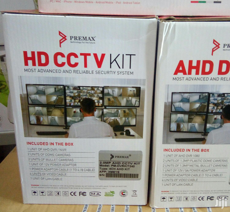 CCTV 4 Channel Camera 1080 Resolution, 2mp