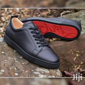 Original Louboutin All Black Sneakers   Shoes for sale in Greater Accra, Ashaiman Municipal