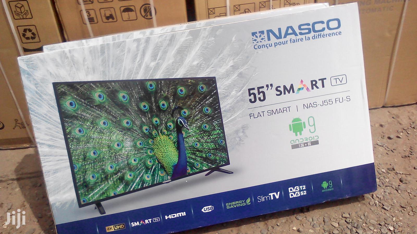 """Nasco 55"""" 4K UHD Android Smart Digital LED TV"""