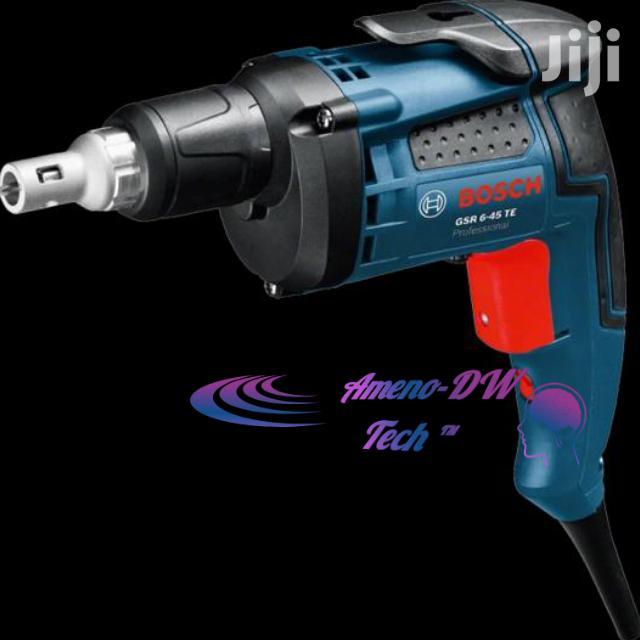 Bosch NAIL GUN (GSR 6-45 TE Pro Drywall Screwdriver) | Hand Tools for sale in Accra Metropolitan, Greater Accra, Ghana