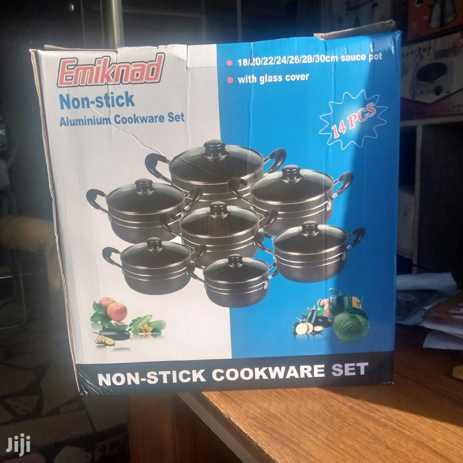 Non Stick Cooking Ware - 7set | Kitchen & Dining for sale in Accra Metropolitan, Greater Accra, Ghana