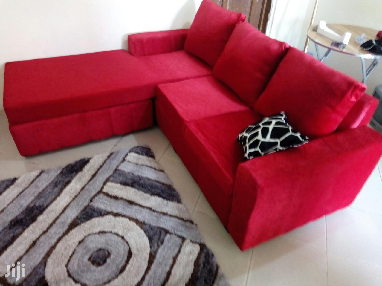 Archive: Brand New Quality Italian L Shape Sofa