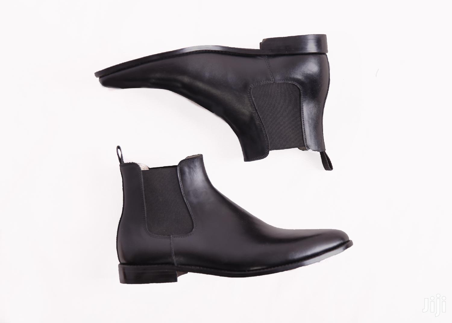 Real Leather Chelsea Boots, Reduced to Clear Stocks Buy Now
