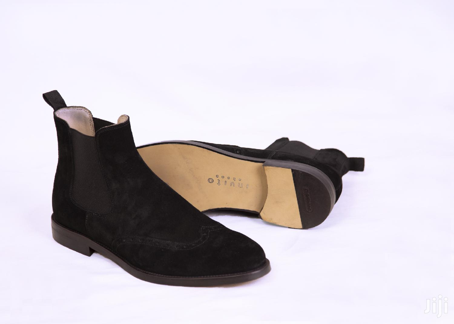 Real Leather Chelsea Boots, Reduced to Clear Stocks Buy Now   Shoes for sale in Accra Metropolitan, Greater Accra, Ghana