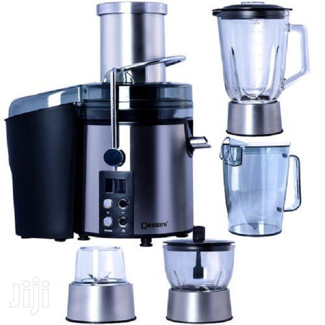 DS 299 4-In-1 Juice Extractor + Blender – 5 Litre Black/Silv