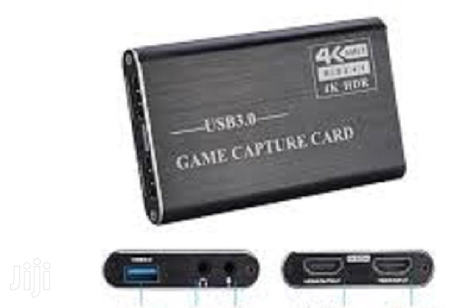 4K 60hz HDR Game Capture Card 1080p(USB3.0) | Computer Accessories  for sale in Achimota, Greater Accra, Ghana