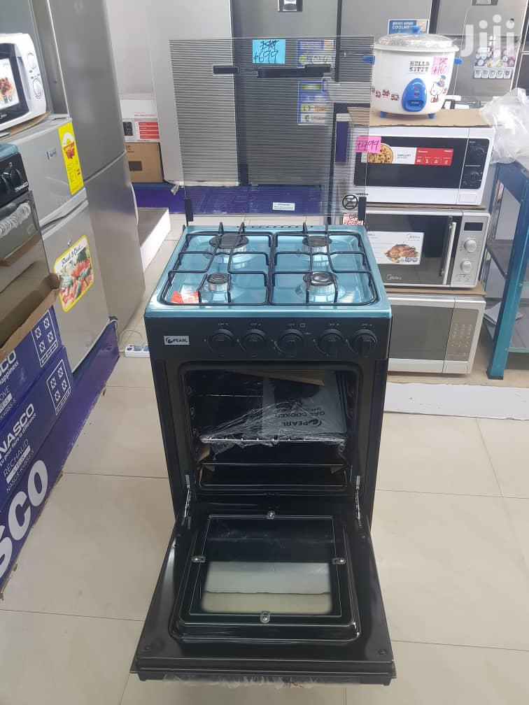 Pearl 4 Burner Gas Cooker With Oven Grill