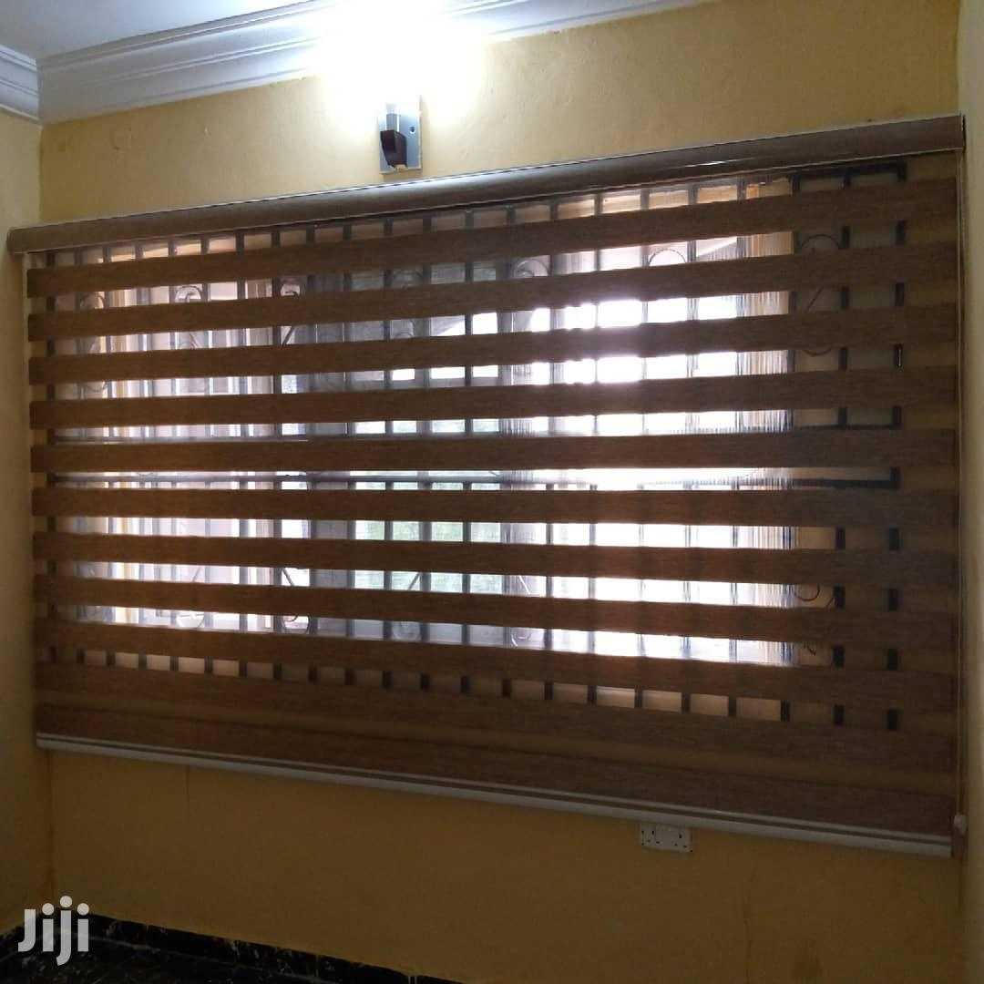 Brown Window Blinds For Homes,Schools,Offices,Etc