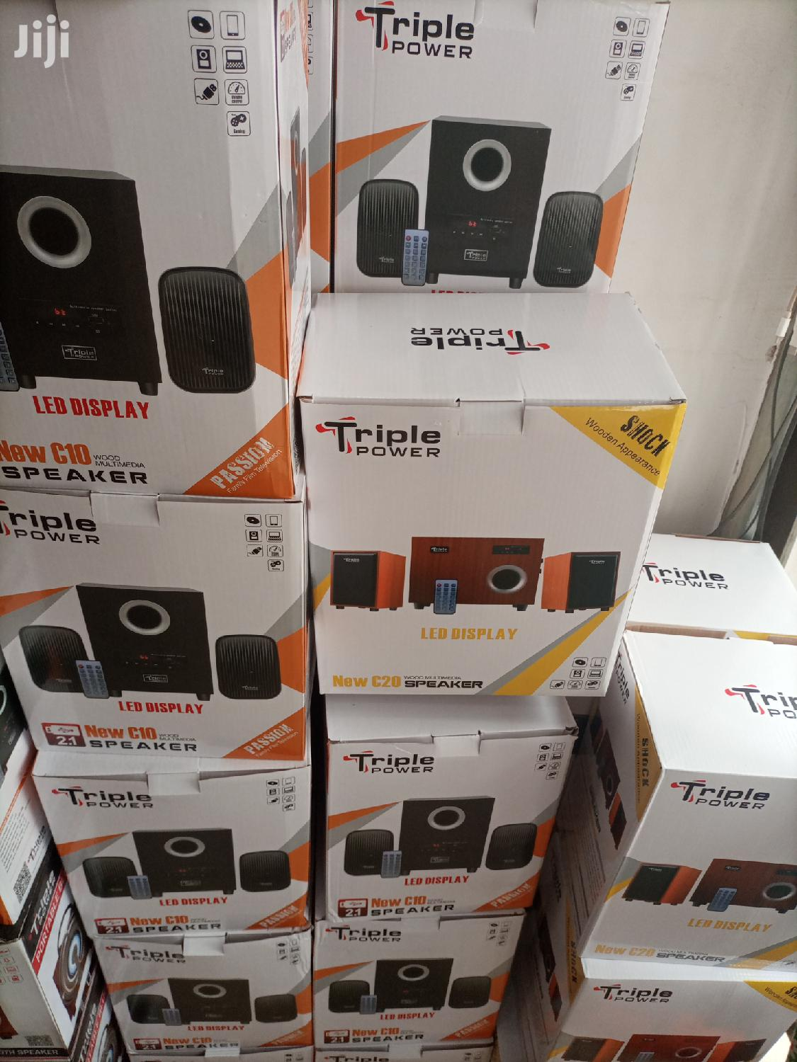 Triple Power Home Theater With Bluetooth