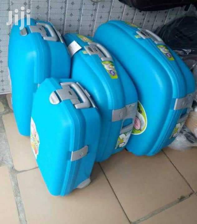 4pcs Plastic Suitcase Set | Bags for sale in Kwashieman, Greater Accra, Ghana
