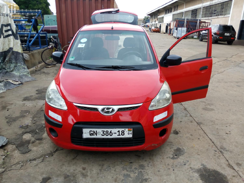 Archive: Hyundai i10 2009 1.2 Red
