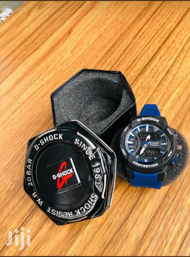 Blue Strap G - Shock Dual Display Watch