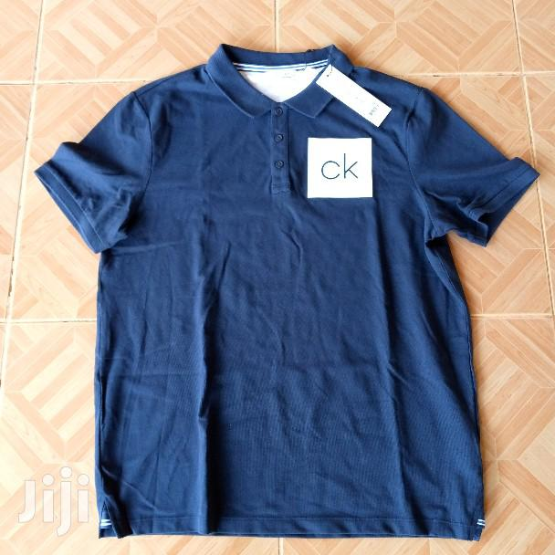 Calvin Klein Chest CK Polo Shirt | Clothing for sale in Ga East Municipal, Greater Accra, Ghana