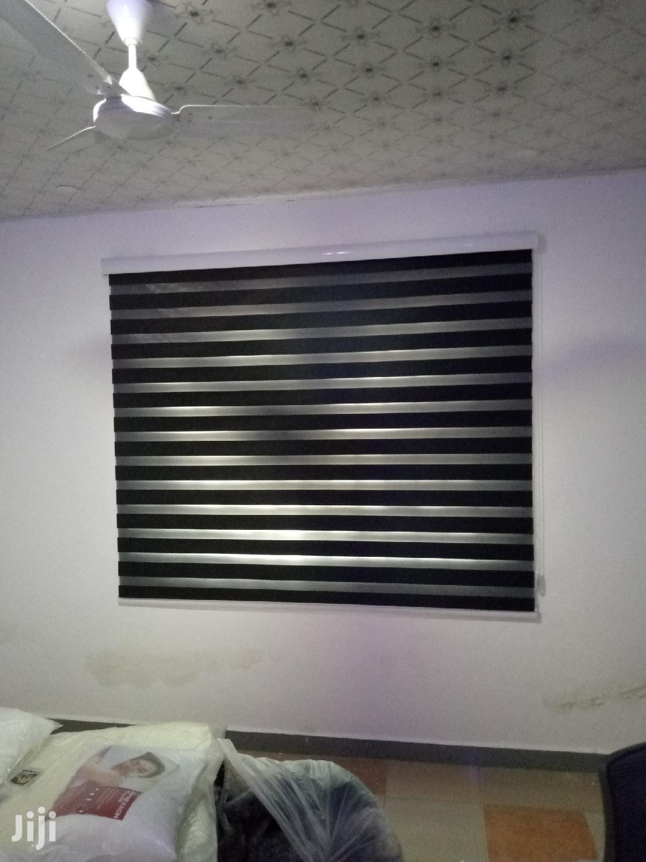 Classy Black Zebra Curtains Blinds