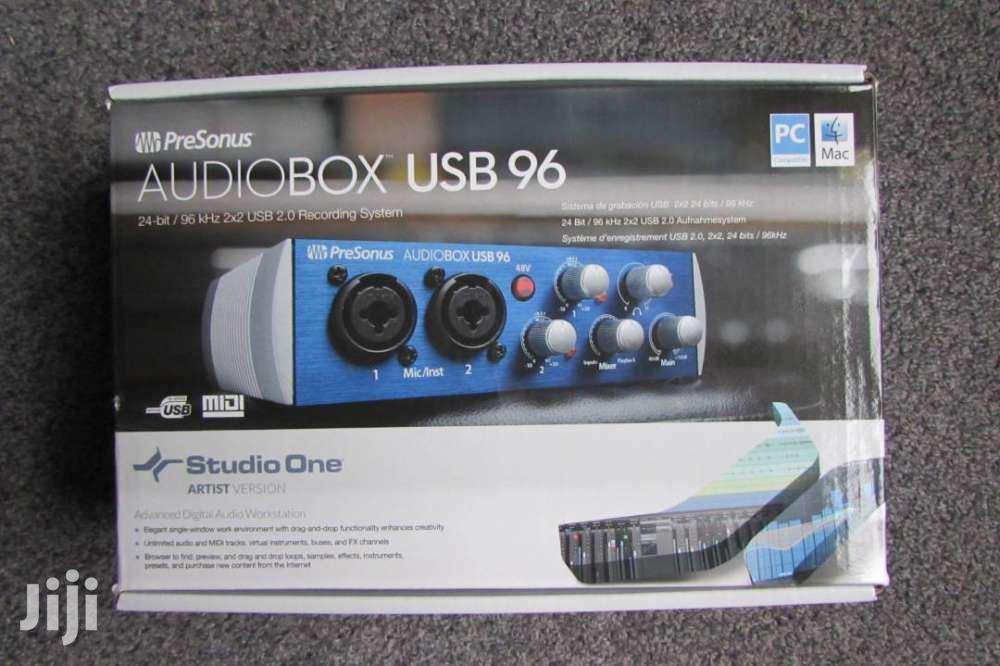 Presonus Audiobox 96 USB 2.0 Audio Recording Interface | Audio & Music Equipment for sale in Tesano, Greater Accra, Ghana