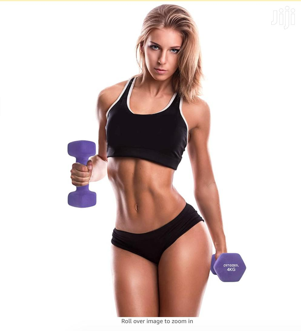Dumbell 4kg Pair | Sports Equipment for sale in Accra Metropolitan, Greater Accra, Ghana