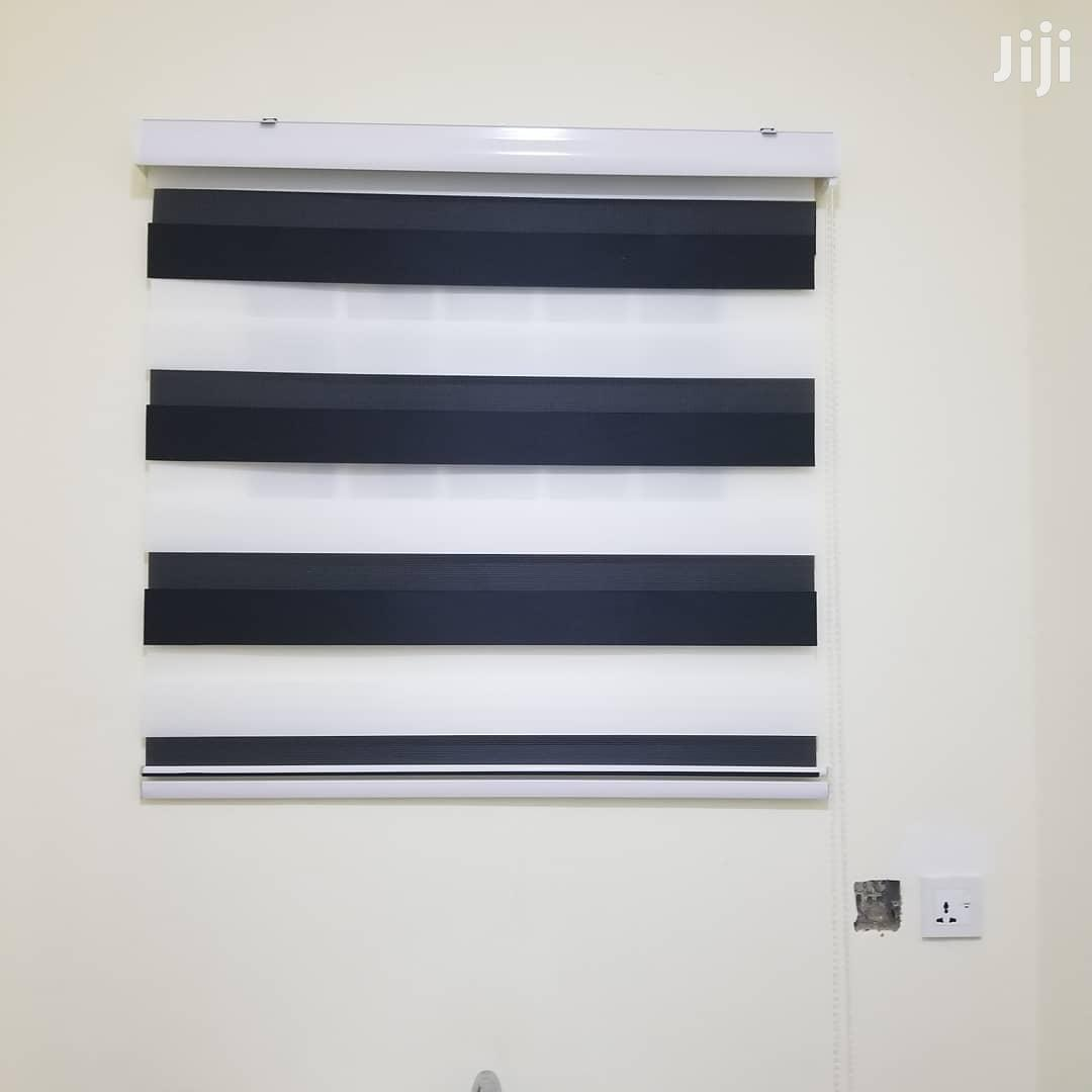 Quality Zebra Window Blinds For Homes,Schools,Offices,Etc   Windows for sale in Burma Camp, Greater Accra, Ghana