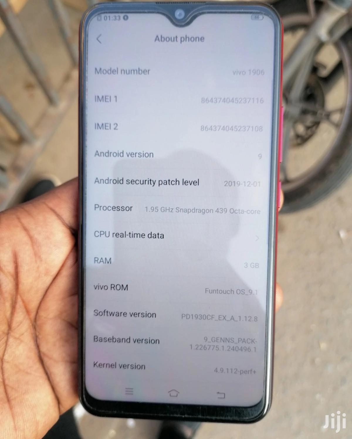 Vivo Y11 32 GB Red | Mobile Phones for sale in Achimota, Greater Accra, Ghana