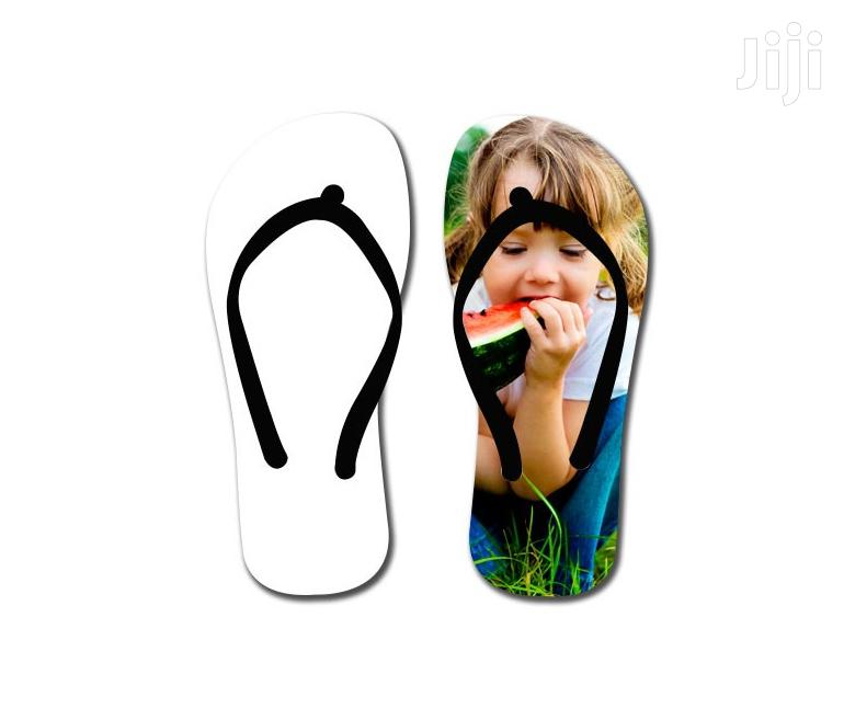 Blank Flip Flops Slippers | Shoes for sale in Accra new Town, Greater Accra, Ghana