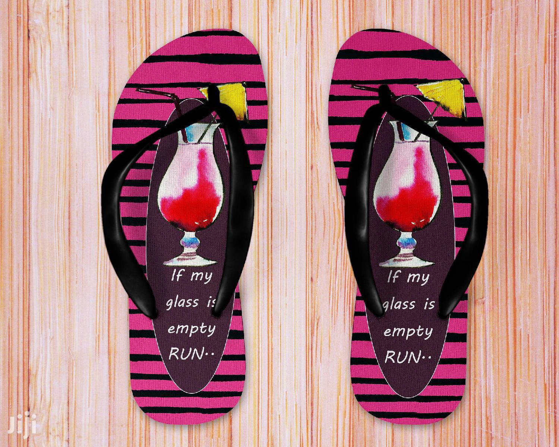 Blank Flip Flops Slippers