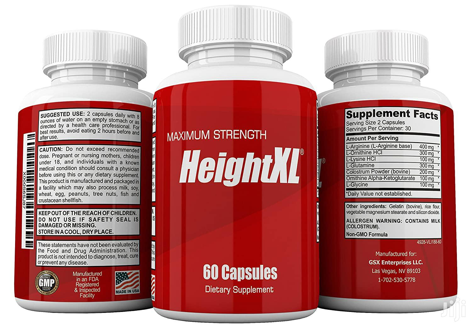 Height XL : For Men and Women | Vitamins & Supplements for sale in Accra Metropolitan, Greater Accra, Ghana