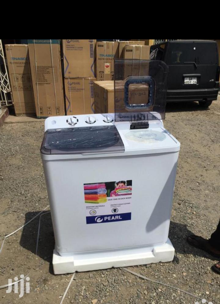 Pearl 12kg Twin Tub Automatic Washing Machine Type.