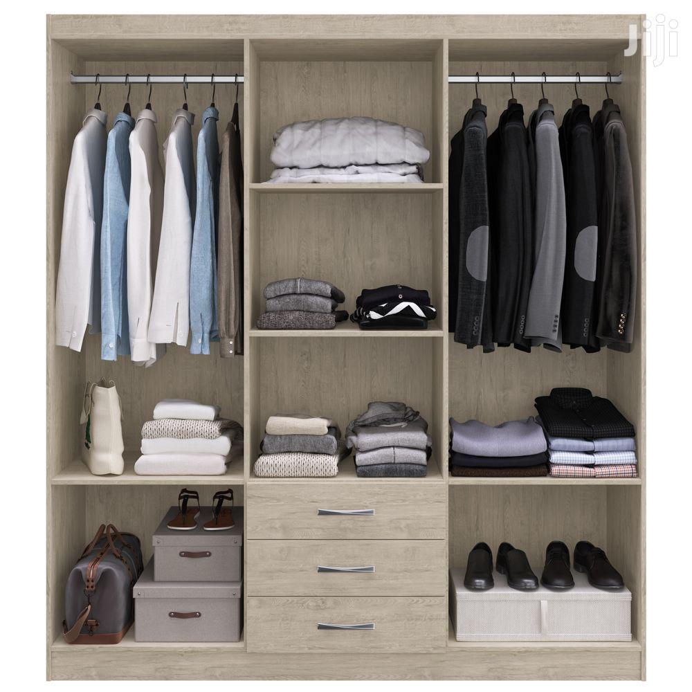 Wardrobe 6 Doors 3 Drawer | Furniture for sale in Accra Metropolitan, Greater Accra, Ghana