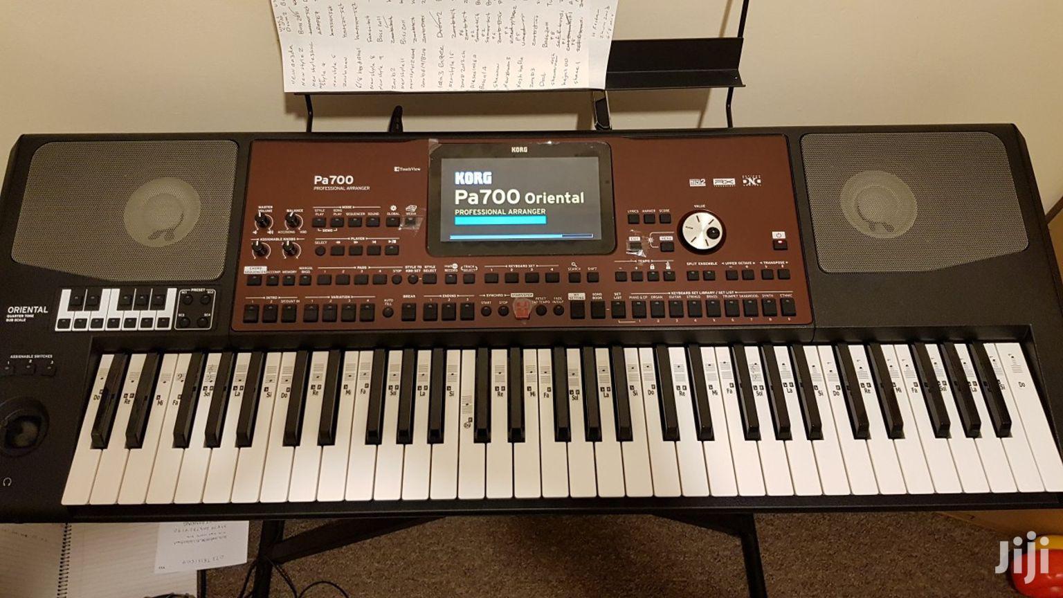Archive: Pa700 Korg Oriental Keyboard