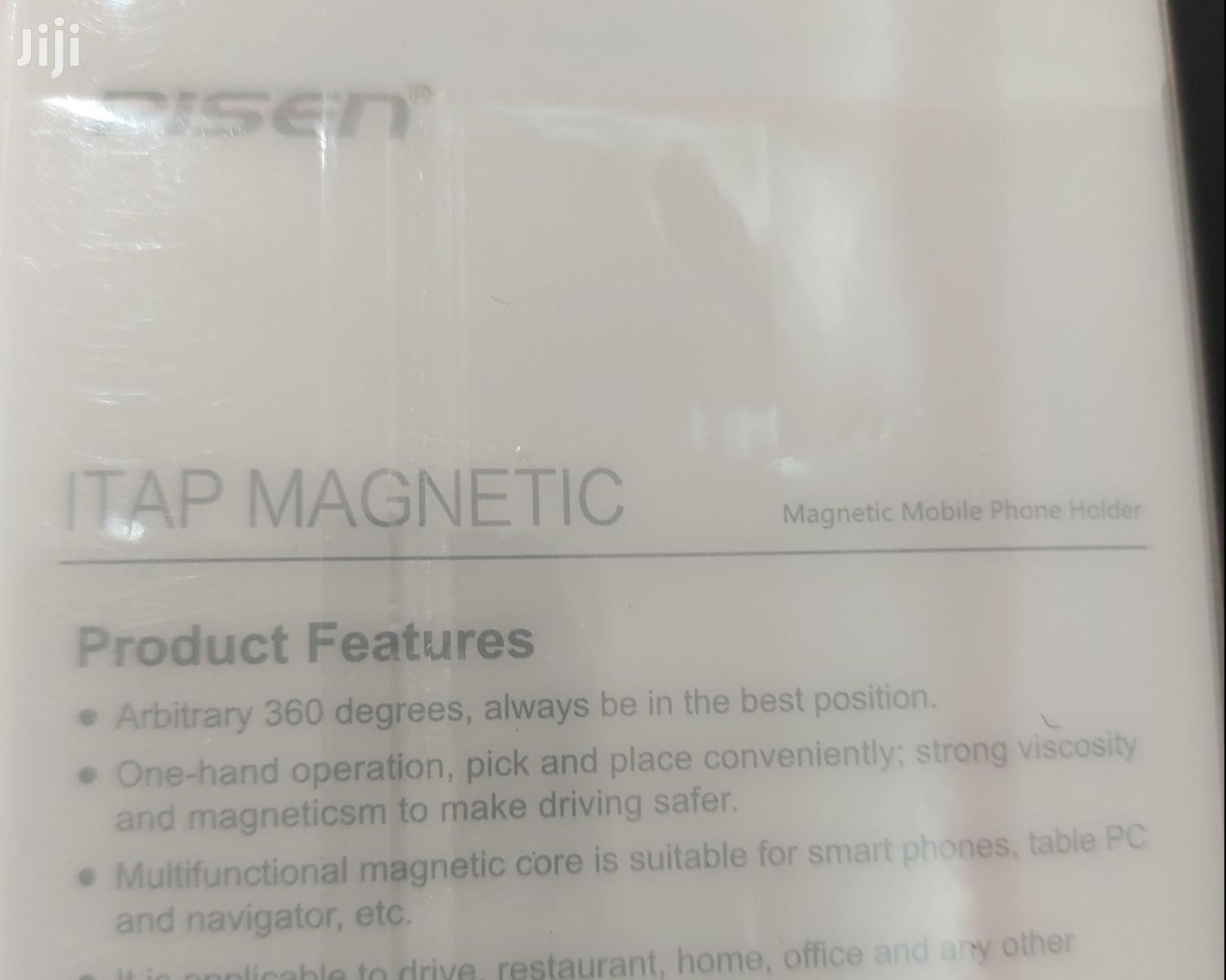 PISEN Magnetic Phone Holder   Accessories for Mobile Phones & Tablets for sale in Abelemkpe, Greater Accra, Ghana